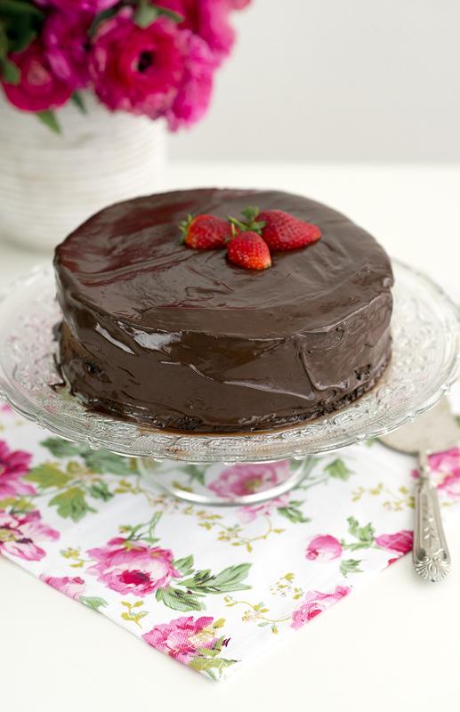 Passover chocolate cake 3
