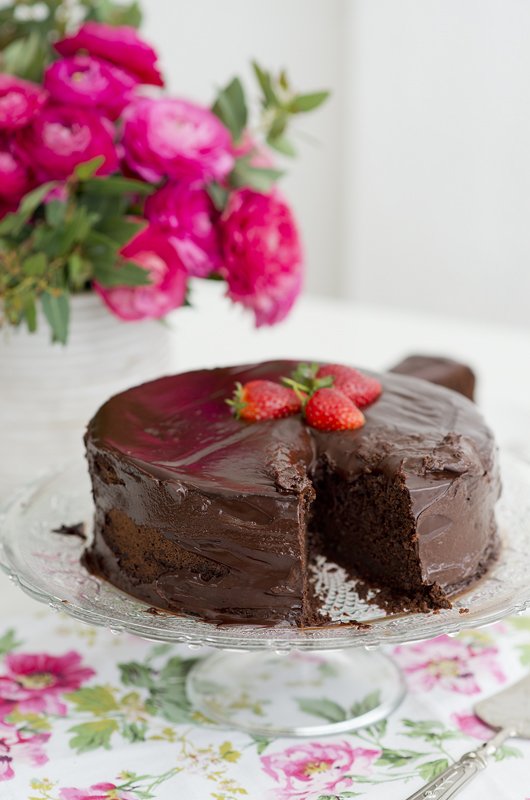 Passover chocolate cake 4