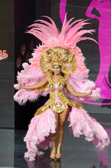 National costume Costa Rica