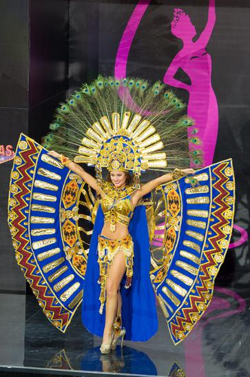National costume Equador