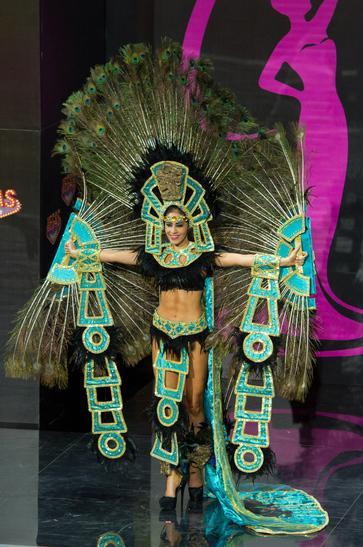 National costume Gonduras