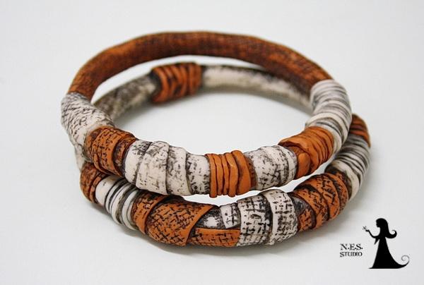 Unique Handmade bangles collection 33