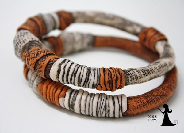 Unique Handmade bangles collection 35