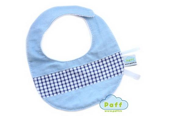 handmade baby goods from Etsy blue baby bib