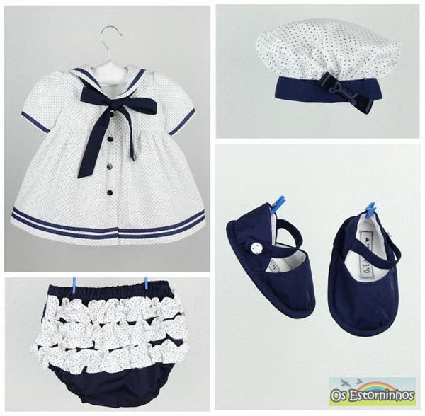 handmade baby goods from Etsy girl sailor dress