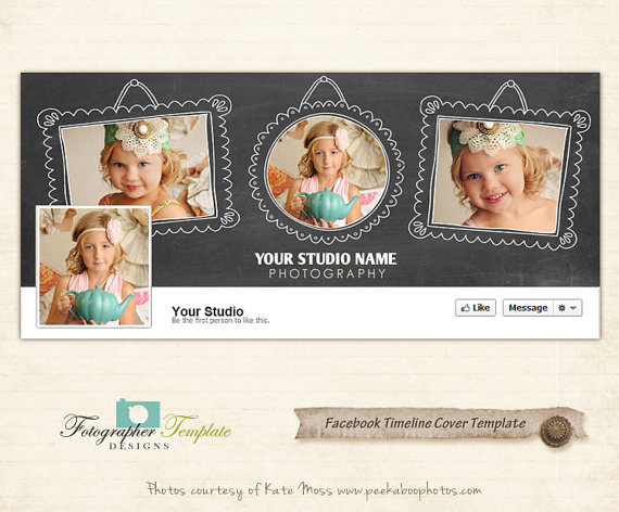 Facebook Timeline Cover Template Chalkboard Facebook Cover Templates
